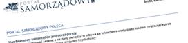 Newsletter PortalSamorządowy.pl