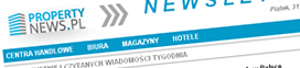 Newsletter PropertyNews.pl